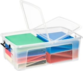Strata Smart Plastic Storage Box 230h X 450w 700dmm 50 Litre By Viking