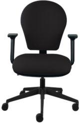 Energi 24 Posture Task Office Operators Chair In Black Fabric by