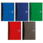 Oxford Office Wirebound Notebooks Metallic Poly cover A5