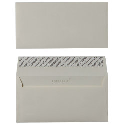 Conqueror Ultra Smooth Peel And Seal Envelopes 120gsm Cream DL 110 x 220 mm Plain Box of 500