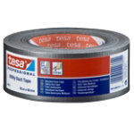 tesa Duct Tape 4613 27 mesh Black 48 mm x 50 m