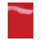 GBC A4 HiGloss Binding Covers Red 250gsm 100 Per Pack