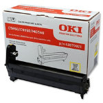 OKI 43870005 Original standard capacity yellow drum unit 43870005