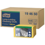 Tork Cleaning Cloths 194650 Yellow