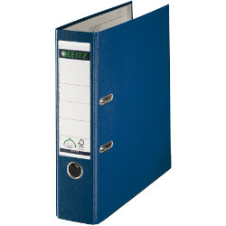 Leitz 180 Degree Lever Arch File Blue