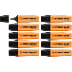 Stabilo Boss Highlighters Orange Pack of 10
