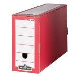 Bankers Box R Kive Premium Transfer Files Red White Pack of 10
