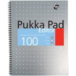 Pukka Pad Business Editor Pads A4 3pk