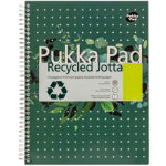 Pukka Pad Recycled Margined A4 110 Sheet Per Pad 3pk
