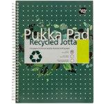 Pukka Pad Recycled Margined A4 110 Sheet Per Pad 3pk