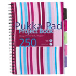 Pukka Pad Project Book 250 Sheets White A4 3pk