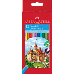 Faber Castell colouring pencils pack 12