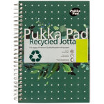 Pukka Pad Recycled No Margin 110 Sheet Pad A5 3pk