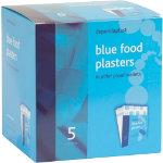 Plasters Blue Detectable Pilfer Proof Dependaplast Box 5