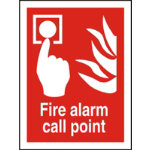 Stewart Superior Fire Alarm Call Point Sign
