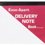 Ease Apart Personalised Delivery Note Book 3 Part 203 x 178 mm 250 Sets Per Pack