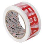 Printed Packaging Tape Fragile 36pk