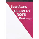 Ease Apart Personalised Delivery Note Book 3 Part 203 x 279 mm 50 Sets Per Book