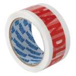 Printed Packaging Tape Handle With Care 6pk