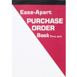 Ease Apart Personalised Purchase Order Book 3 Part 203 x 279 mm 50 Sets Per Book