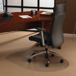 Floortex Ultimat Polycarbonate Chair Mat for carpets 890mm x 1190mm rectangular cut