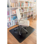 clear style Chair Mat Rectangular Black 1200 x 900 mm