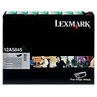 Lexmark 12A5845 Black Laser Toner Cartridge