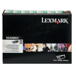 Lexmark 12A6865 Black Laser Toner Cartridge