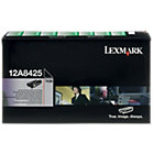 Lexmark 12A8425 Black Laser Toner Cartridge