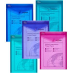 Snopake Document Wallets A4 Assorted Polypropylene 335 x 245 cm