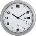 Alba Wall Clock Horday Grey White