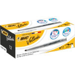 Bic Velleda Whiteboard Marker Black Pack of 12