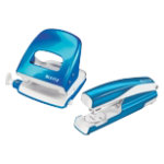 Leitz Stapler and Holepuncher 30 Sheets Blue
