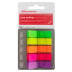 Assorted Office Depot Pop Up Index Flags