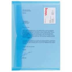 Office Depot Id Document Wallets 335 x 215mm Blue