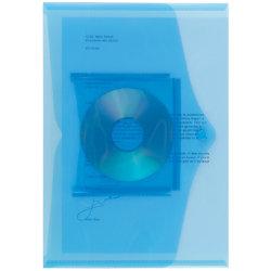 Office Depot Cd Document Wallets 335 x 235mm Blue