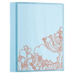 Office Depot Presentation Binder Transparent Blue