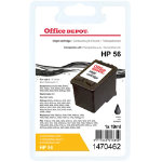Office Depot Compatible HP 56 Black Ink Cartridge