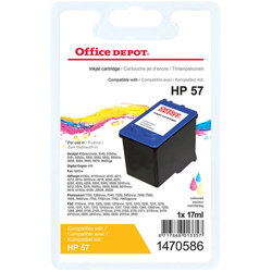 Office Depot Compatible for HP 57 3 Colours Ink Cartridge C6657A