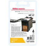 Office Depot Compatible HP 27 Black Ink Cartridge
