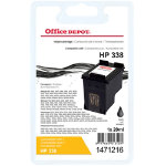 Office Depot Compatible HP 338 Black Ink Cartridge