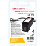 Office Depot Compatible HP 339 Black Ink Cartridge