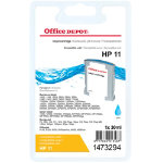 Office Depot Compatible HP 11 Cyan Ink Cartridge