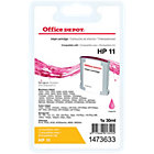 Office Depot Compatible for HP 11 Magenta Ink Cartridge C4837A
