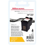 Office Depot Compatible HP 337 Black Ink Cartridge