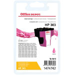 Office Depot compatible HP 363 magenta ink cartridge