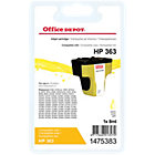 Office Depot compatible HP 363 yellow ink cartridge