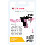 Office Depot Compatible HP 363 Light Magenta Ink Cartridge