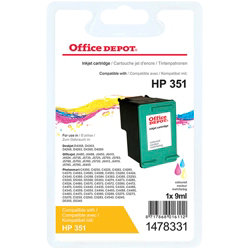 Office Depot Compatible for HP 351 3 Colours Ink Cartridge CB337EE