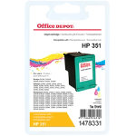 Office Depot compatible HP 351 colour ink cartridge